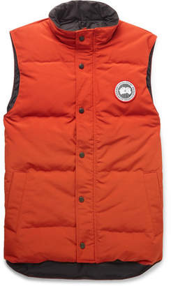 Canada Goose Garson Slim-fit Quilted Shell Down Gilet - Orange