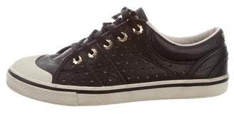 Dolce & Gabbana Low-Top Perforated Sneakers
