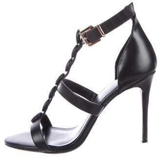 Raye Leather Ankle Strap Sandals