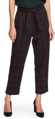 Vince Camuto Plaid Crop Pants