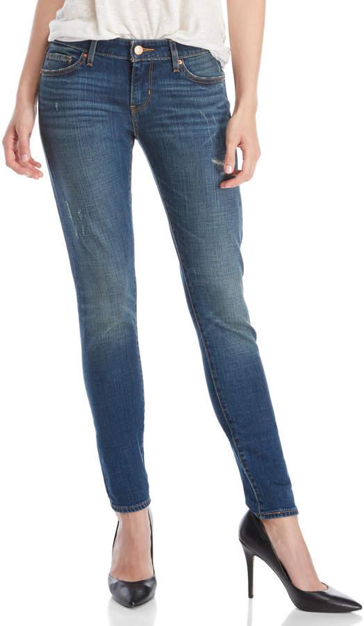 Levi's 711 Selvedge Skinny Jeans