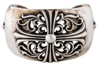 Chrome Hearts Floral Cross Cuff