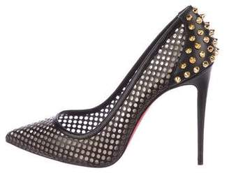Christian Louboutin Leather Studded Pumps