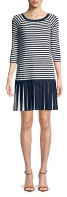 Bailey 44 Striped Pleated Dress