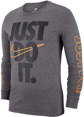 Nike Men's Sportswear Just Do It Long-Sleeve T-Shirt