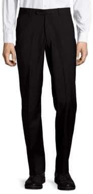 John Varvatos Astor Luxe Wool Straight-Leg Dress Pants