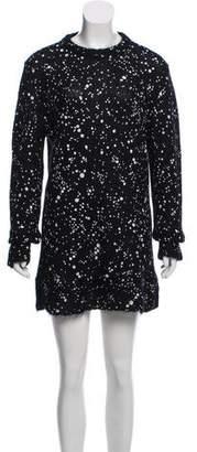 Fendi Knee-Length Sweater Dress