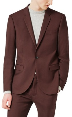 Men's Topman Skinny Fit Suit Jacket $200 thestylecure.com