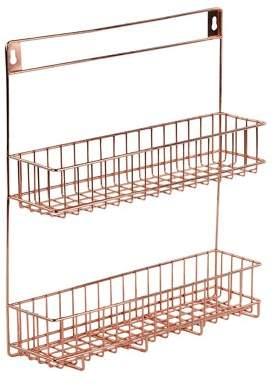 Design Ideas Lincoln Spice Rack Copper