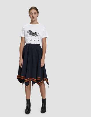 J.W.Anderson Carousel Horse Printed T-Shirt