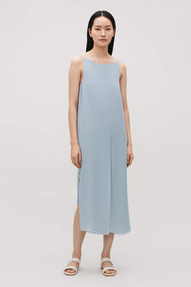 Cos LAYERED OPEN-BACK DRESS