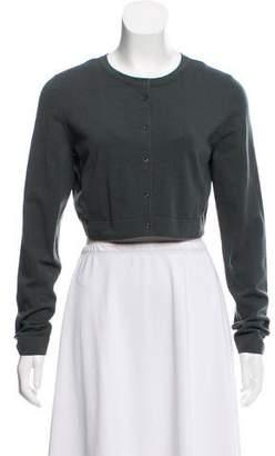 Alaia Long Sleeve Knit Cardigan