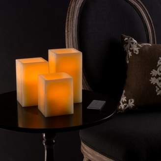 DAY Birger et Mikkelsen Lavish Home 3 Piece Square Scented Flameless Candle Set
