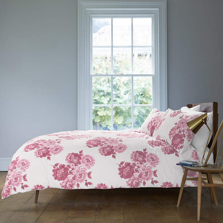 Peony Blossom Duvet Cover - Pink - Single