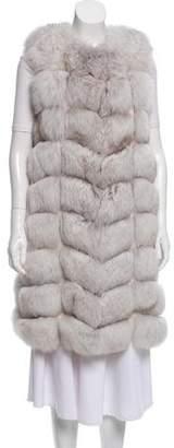 Arctic Snow Fox Vest