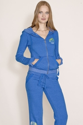 Gypsy 05 Shelly Zip-Up Sweatshirt In Royal
