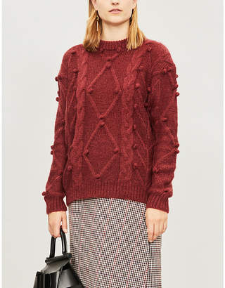 Leith KITRI bobble knitted jumper