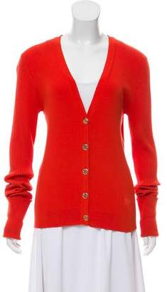 Tory Burch Long Sleeve Button- Up Cardigan