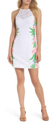 Lilly Pulitzer R) Pearl Lace Sheath Dress