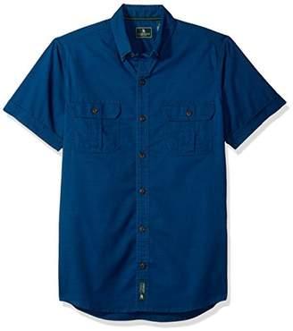 Bass GH Men's Explorer Point Collar Short Sleeve Fishing Shirt