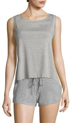 Eberjey Darby Heathered Tank $56 thestylecure.com