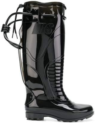 Raf Simons future wellington boots