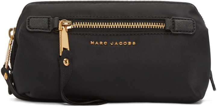 Marc Jacobs Marc Jacobs Black Trooper Framed Big Bliz Cosmetic Case