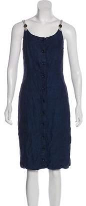 Altuzarra Sleeveless Linen Dress