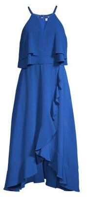 66c0238a234 Kensie Popover Ruffle Halter Dress