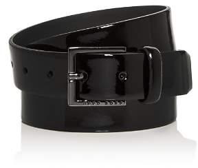 HUGO Cyngo Patent Leather Belt