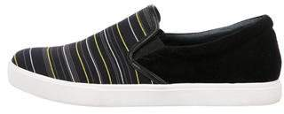 United Nude Striped Slip-On Sneakers