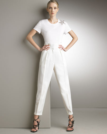 Yves Saint Laurent High-Waist Pants