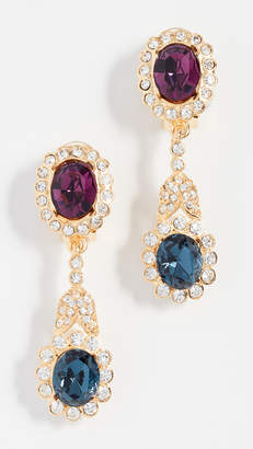 Kenneth Jay Lane Crystal Drop Earrings