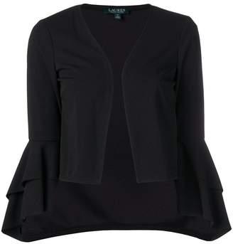 Lauren Ralph Lauren ruffle cropped jacket