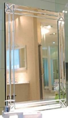Thermogroup Ablaze Art Deco Contemporary Modesty Mirror