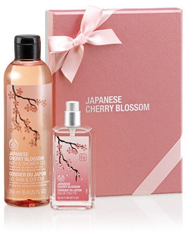 The Body Shop Japanese Cherry Blossom Shower & Spritz Gift