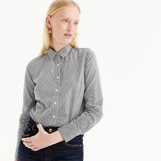 J.Crew Tall slim perfect shirt in striped cotton poplin