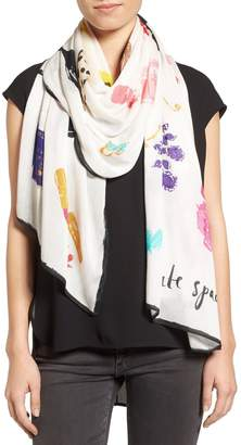 Kate Spade Things We Love Oblong Scarf