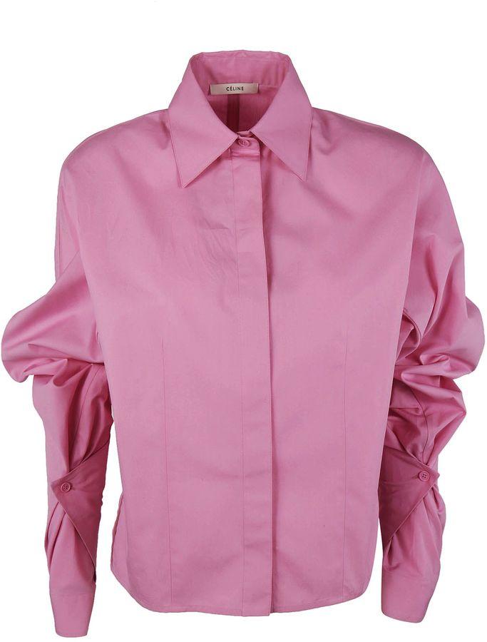 CelineCeline Ruffled Sleeves Shirt