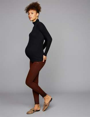 A Pea in the Pod Articles Of Society Secret Fit Belly Sarah Coated Maternity Jeans