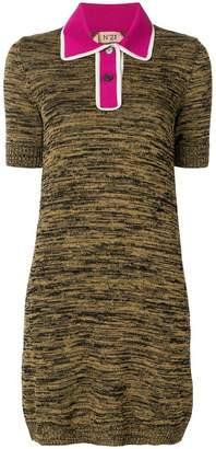 No.21 polo T-shirt dress