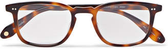 Garrett Leight California Optical Howland 49 Square-frame Tortoiseshell Optical Glasses