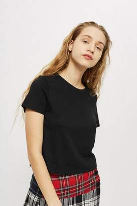 Topshop Petite Basic Cropped T-Shirt