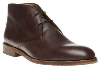 New Mens Sole Crafted Brown Bisley Leather Boots Chukka Lace Up