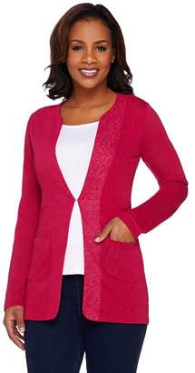 Kelly By Clinton Kelly Kelly by Clinton Kelly Cardigan with Front Pockets