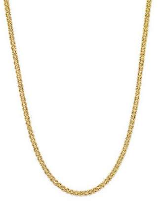 "Bloomingdale's 14K Yellow Gold Double Row Light Rope Necklace, 18"" - 100% Exclusive"