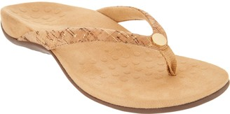 Vionic Thong Sandals w/ Button - Mona