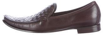 Bottega VenetaBottega Veneta Intrecciato Leather Loafers