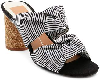 Dolce Vita Women's Jene Knotted Block Heel Slide Sandals