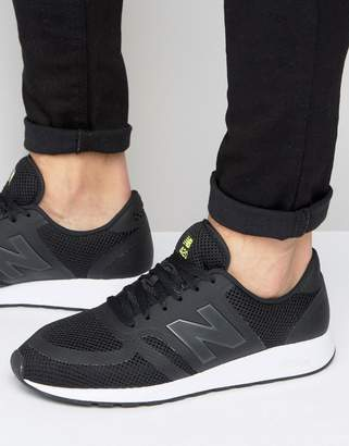 new balance 420 trainers in black mrl420tt